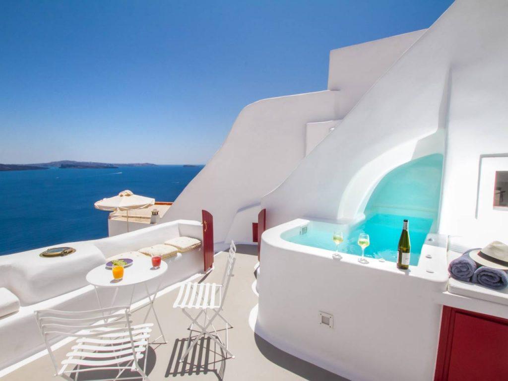 Luxe huis Santorini