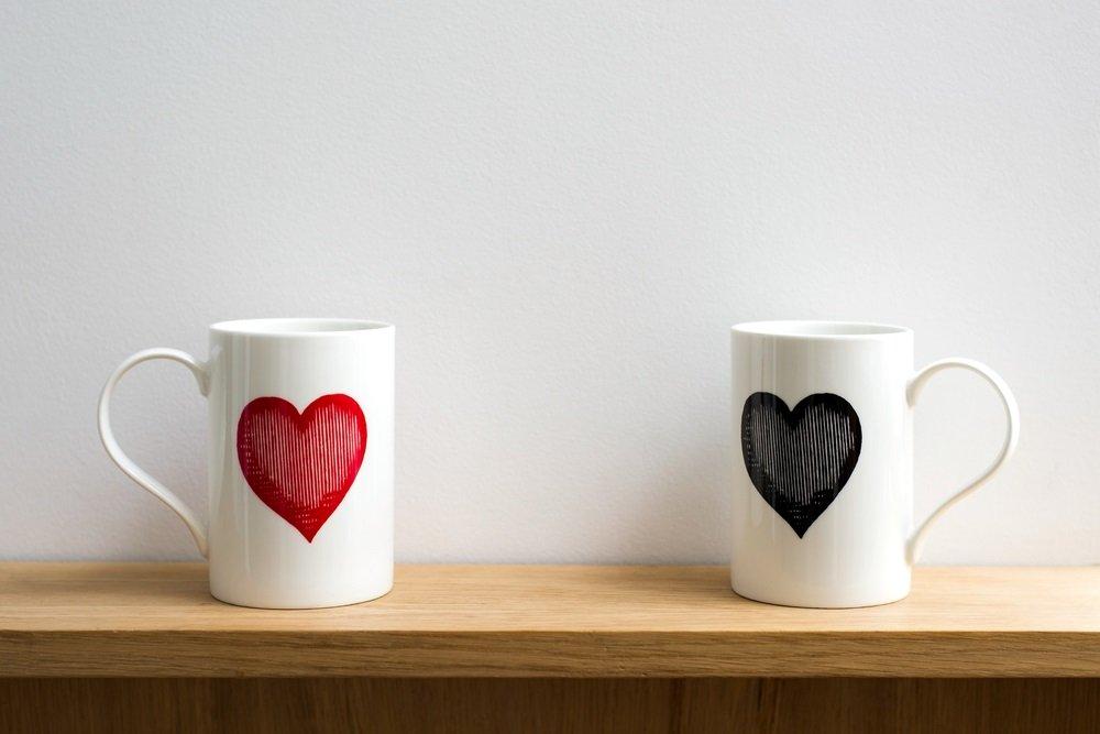 Mok bedrukken als romantisch cadeau