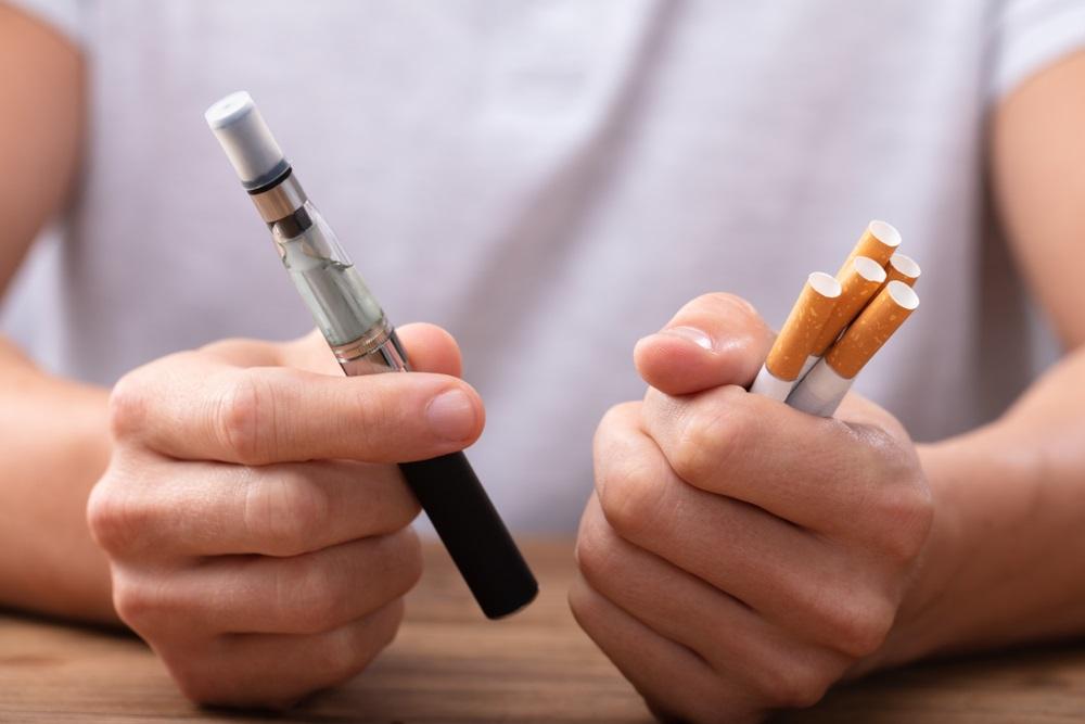 Elektrische sigaret, minder schadelijk dan een gewone sigaret