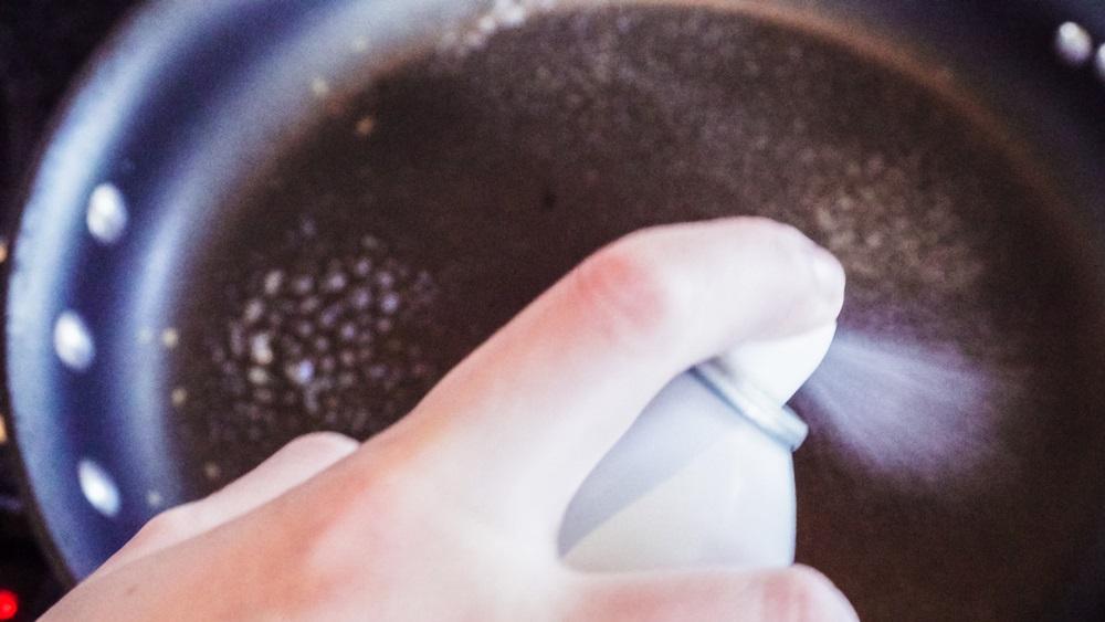 De voordelen van een cooking spray
